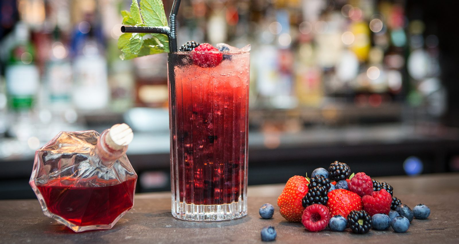 Summer Berry Mocktail recipe