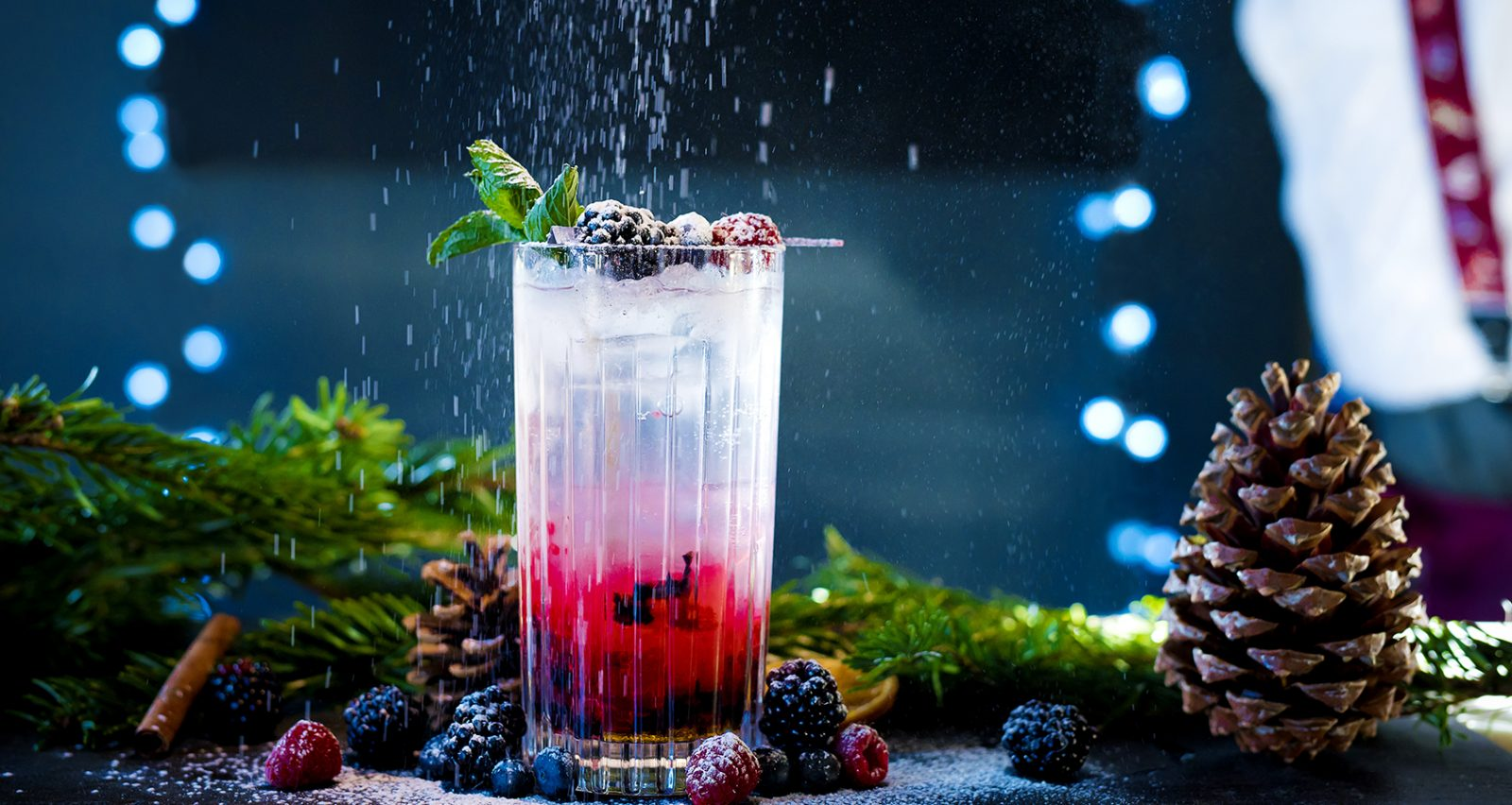 Triple Berry mocktail recipe