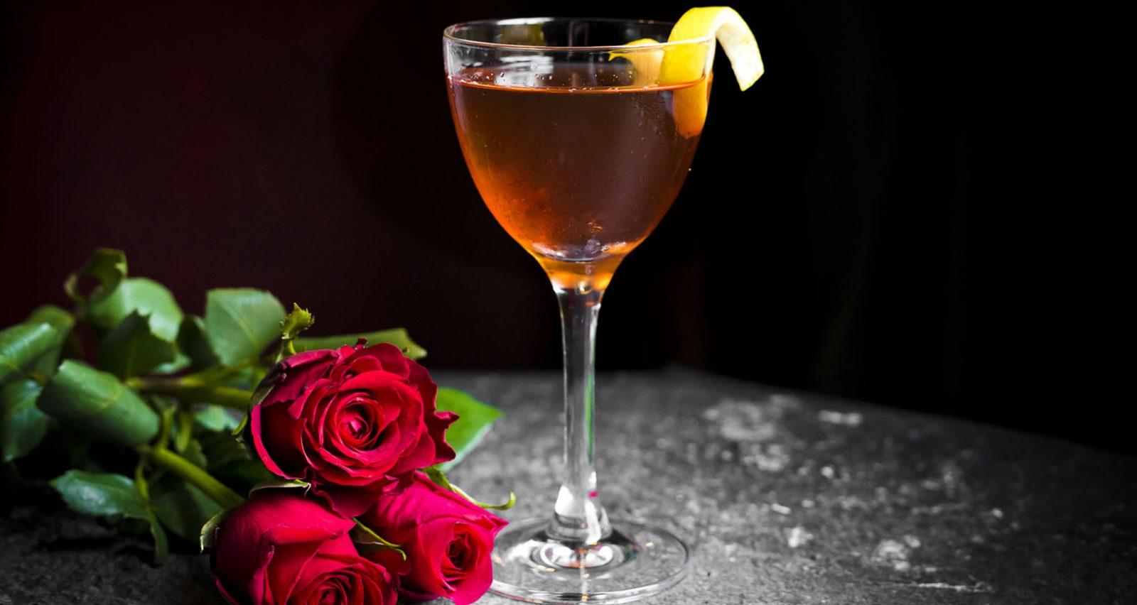 Sloe Kiss cocktail