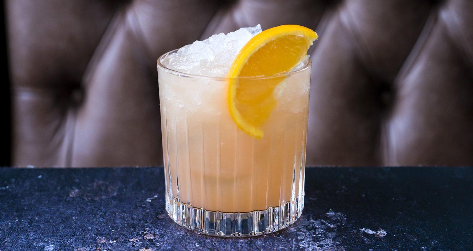Winter Bourbon Smash
