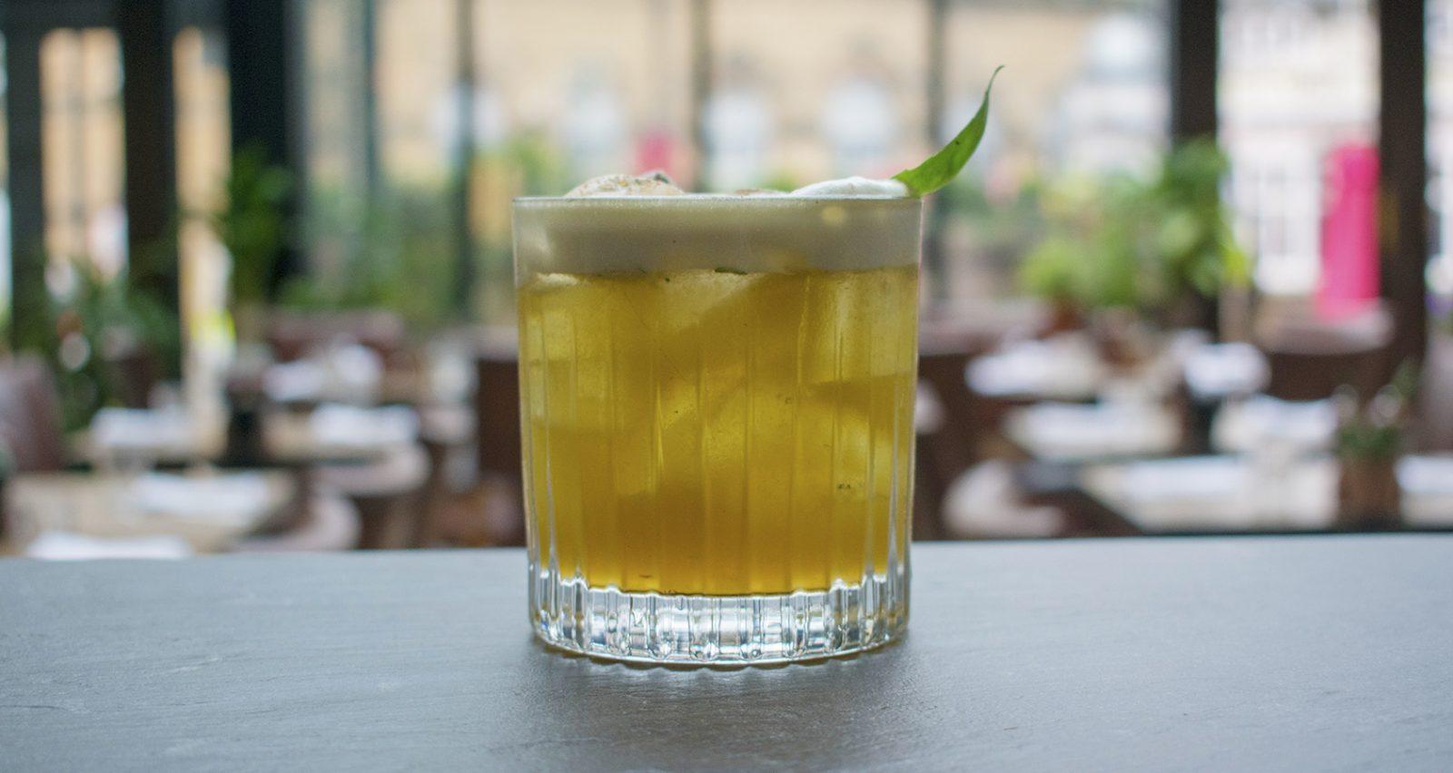 Aqua Antica cocktail