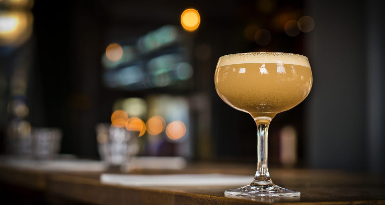 Flødeboller cocktail
