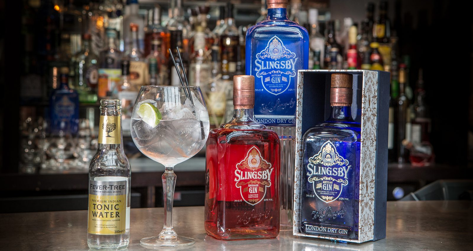 Slingsby gin masterclass
